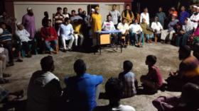 গলাচিপায় নৌকার গণসংযোগ করলেন গোলাম মোস্তফা খান