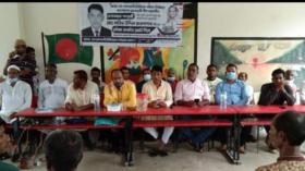 গলাচিপায় নৌকায় ভোট চাইলেন উপজেলা আওয়ামী লীগ